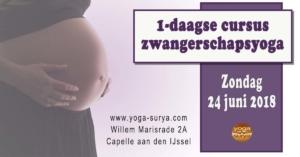 eendaagse cursus zwangerschapsyoga