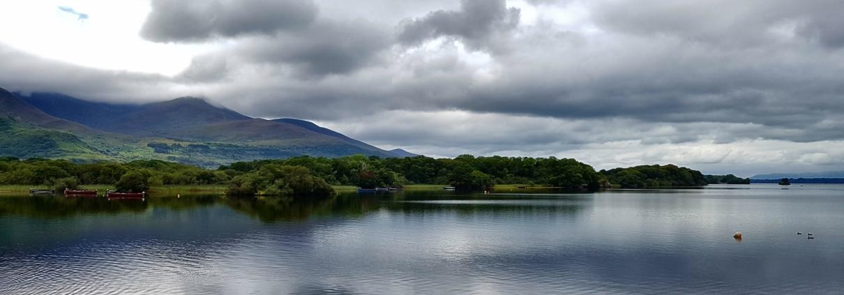 Blog ik ben nu hier Ierland