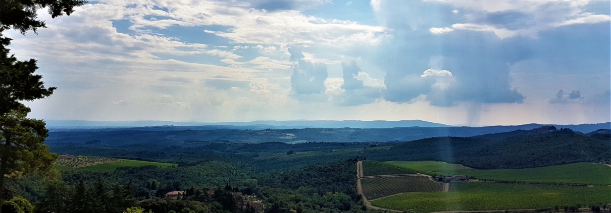 Blog Als denken beweging is - Toscane Chianti